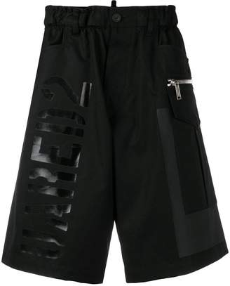 DSQUARED2 logo bermuda shorts