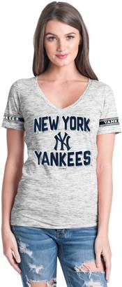 Women's New York Yankees Space dye Tee