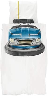 Snurk Bumper Car Print Cotton Duvet Cover Set