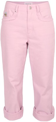 Blonde Gone Rogue Sustainable Moms Jeans In Pink