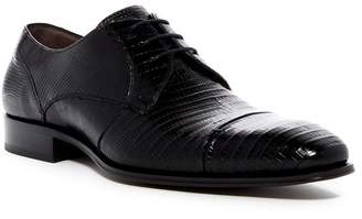 Mezlan Valdes Genuine Lizard Cap Toe Derby