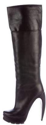 Walter Steiger Leather Knee-High Boots