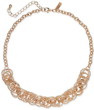 INC International Concepts I.n.c. Multi-Ring Statement Necklace