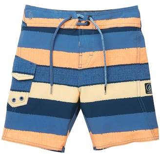Volcom Magnetic Liney Mod Board Shorts (Toddler Boys & Little Boys)
