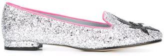 Chiara Ferragni 'Flirting' glitter slippers $329.50 thestylecure.com