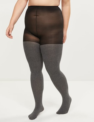 Lane Bryant Super Opaque Smoothing Tights - Sheer to Waist