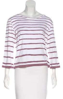 Hermes Striped Jersey T-Shirt