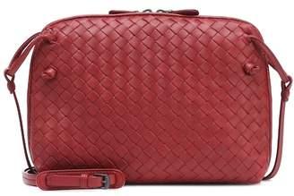 dc42636372 Bottega Veneta Nodini intrecciato leather crossbody bag