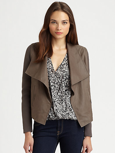 Joie Jevon Leather Jacket