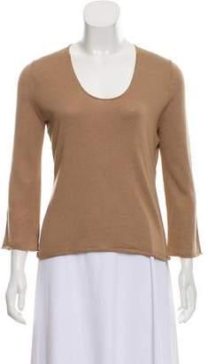 La Garçonne Moderne Long Sleeve Knit Top
