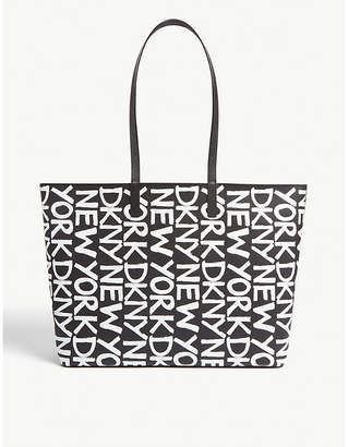 DKNY Brayden large reversible leather tote