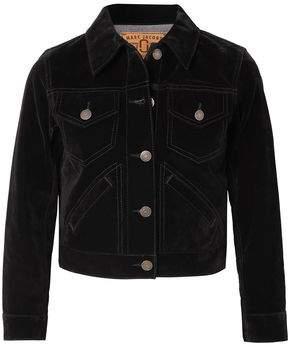 Marc Jacobs Cropped Velvet Jacket