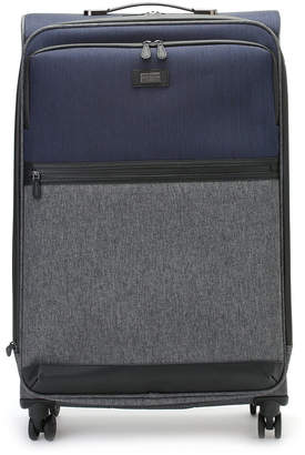 Ted Baker バイカラー スーツケース L グレーマルチ