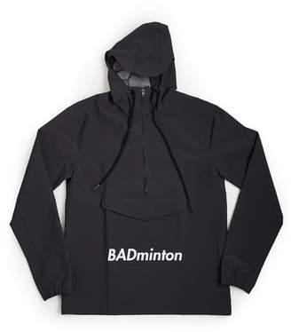 DÃMOS - Demos Grey Badminton Printed Windbreaker Waterproof Jacket