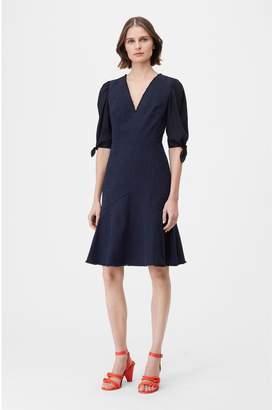 Rebecca Taylor Tailored Slub Suiting Dress