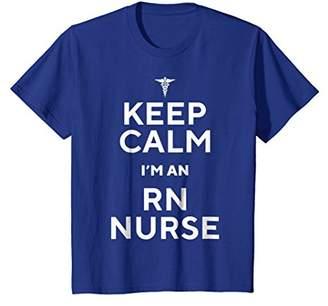 Keep Calm I'm An RN Nurse Funny T-shirt Nurse Lovers Gift