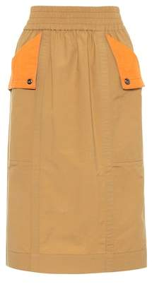 Marc Jacobs Cotton-blend skirt