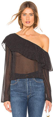 SIA About Us One Shoulder Top