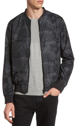 Men's Topman Camo Print Bomber Jacket $90 thestylecure.com