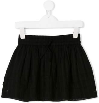 Zadig & Voltaire Kids layered short skirt