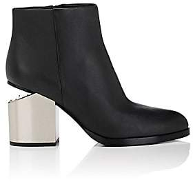 Alexander Wang Women's Gabi Leather Ankle Boots-Black