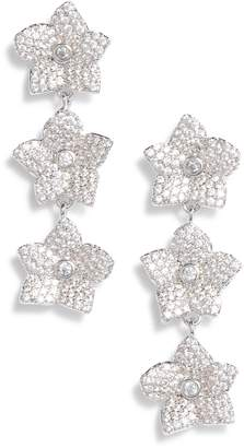 Kate Spade Blooming Pave Linear Earrings
