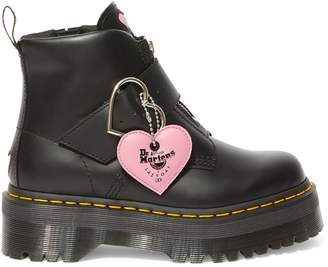 Dr. Martens x Lazy Oaf Buckle Leather Boots