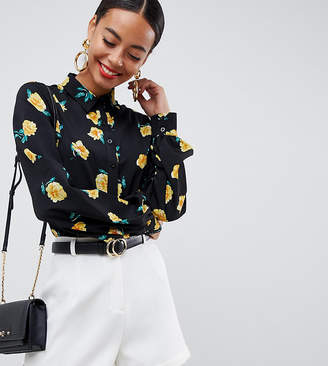 Fashion Union Tall shirt in floral print
