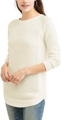 N. Heart Crush Women's Boatneck Knit Sweater