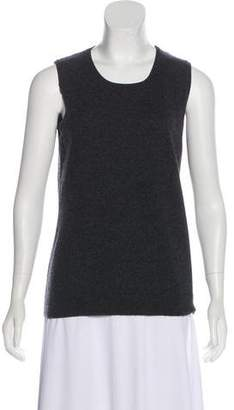 Allude Cashmere Sleeveless Sweater