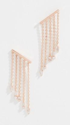 Suzanne Kalan 18k Fringe Post Earrings