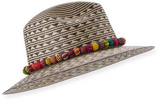 Valdez Panama Cartagena Straw Panama Hat, Tan