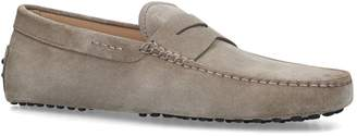 J.P Tods Suede Gommino Driving Shoes