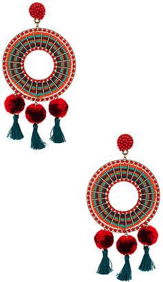 Ro & De Nannacay Rode Earrings
