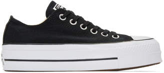 Converse Black and White Chuck Taylor All Star Lift Sneakers