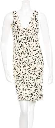 Diane von Furstenberg Sleeveless Silk Midi Dress