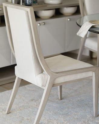 Bernhardt Axiom Cutout Dining Side Chairs (Pair)