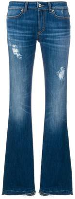 Dondup distressed bootcut jeans