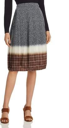 Tory Burch Printed Silk Skirt