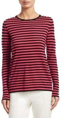 Akris Punto Multi Striped Wool Sweater