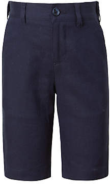 John Lewis Heirloom Collection Boys' Linen Suit Shorts, Navy