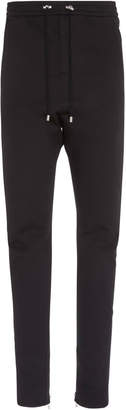 Balmain Stretch-Wool Slim-Leg Sweatpants