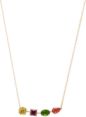Ileana Makri Multi Shape Branch Necklace