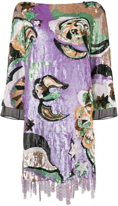 Emilio Pucci sequined mini dress