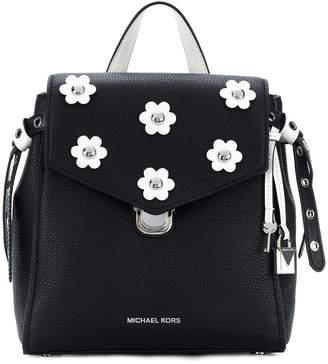 MICHAEL Michael Kors Bristol floral appliqué small backpack