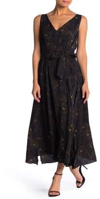 Bishop + Young Double V Waist Belt Dress