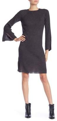 Joe Fresh Rib Knit Long Sleeve Dress
