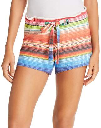 LnA Baja Brushed Striped Shorts