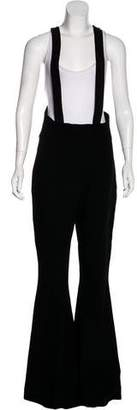 Gareth Pugh Flared Wool Suspenders