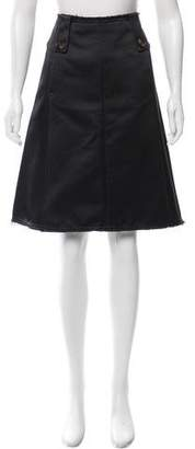 Schumacher Dorothee Satin A-Line Skirt w/ Tags